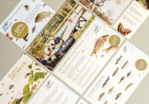 Biofisch Flyer, Folder, Postkarten
